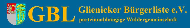 Glienicker Bürgerliste e.V. Logo